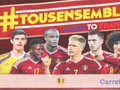 Tous Ensemble Road To France - Panini - Carrefour - 2015