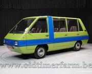 Fiat 850 Visitors bus '75