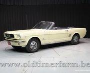 Ford Mustang V8 Cabriolet '66
