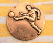 Voetbal medaille.