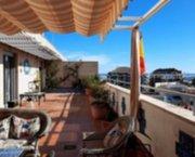 Uw Penthouse in DENIA met zeezicht breed terras en garageplek