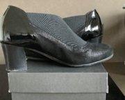 Geklede zwarte damesschoenen maat 35 1/2 nieuw