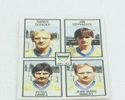 Rac. Jet Bruxelles - Gebauer - Goyvaerts - Davies - Imbert - NR 393 - Football 82 - Panini