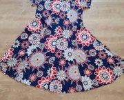 Gebloemde jurk stretch maat Medium Nieuw