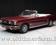 Ford Mustang V8 Convertible '66