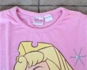 Roze Disney Longsleeve met Doornroosje - 122/128