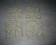 430 stuks kleine anti-sliptegeltjes10x10cm