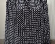 Vintage Zwarte Blouse van St Michael - Maat 44