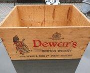 Houten kist Dewar's Whisky