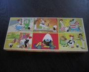 Vintage Jigsaw Puzzel met 6 Calimero Taferelen - 1972
