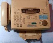 Fax en copier functie