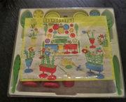 Vintage Bloemschikken Speelgoed van Herbart (Eind jaren 60)
