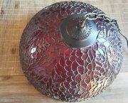 Vintage Rode Lamp