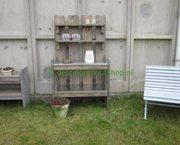 Steigerhout plantentafel met zink