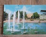 Ansichtkaart / Postkaart Fontein Gele Rijders Plein