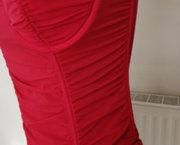 Supermooi Doorzichtig Rood Torselet met String 75C en 70D