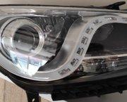 Koplamp Hyundai I40 vervangen LED's