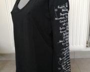 Zwarte Longsleeve met Print op Mouw - Esprit Sports - XL