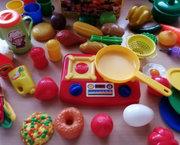 Grote Keuken Speelset met 92 Items - Nieuw