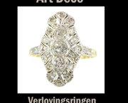 Art Deco verlovingsringen nu te koop bij Adin.