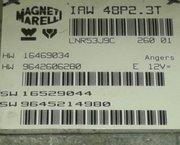 ECU Peugeot 206  IAW 48P2.3T reparatie