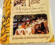 Kunstboek : Renoir zijn Kunst en het Culinaire.