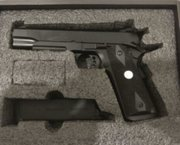 Airsoft 1911 Black Panther Edition
