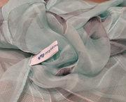 Prachtige Lange Zomer Sjaal in Zacht Azuurblauw - Mylene