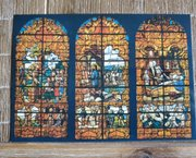 8 Oude Postkaarten/Ansichtkaarten Sint-Martinusparochie Strijtem-Roosdaal