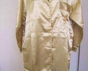 Goudkleurig Gesatineerd Nachthemd - Medium - Nieuw
