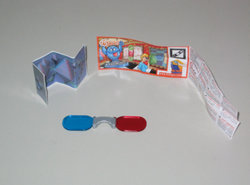 Mixart - DC027 - Kinder Surprise - 2011 - 3D Bril