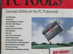 Central point Pc tools version 7 for Dos