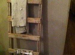 Houten Ladder Decoratie : Wand ladder decoratie luxe pvc waterdichte vloer d houten ladder