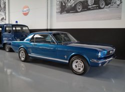FORD MUSTANG Coupe V8 new 351 engine Loud en Fast (1966)