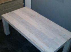Mooie Steigerhouten Eettafel.Meubelen Mooie Steigerhouten Tafel Van 1m B In 2m Lang