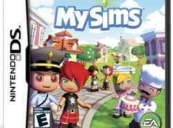 Nintendo DS game: My Sims DS
