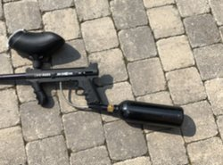 Paintball tippmann custom 98