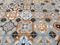 Portugese Tegels Patchwork : Bouw world parks portugese tegels patchwork kleurrijke plavuis