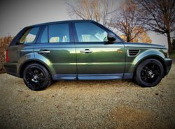 Range Rover Sport lichte vracht 139 800 km Full option