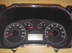 Herstelling LCD display Citroen Nemo km teller