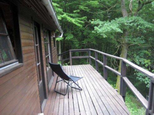 Vakantiewoningen chalet 6p ardennen midden in het bos for Bos te koop