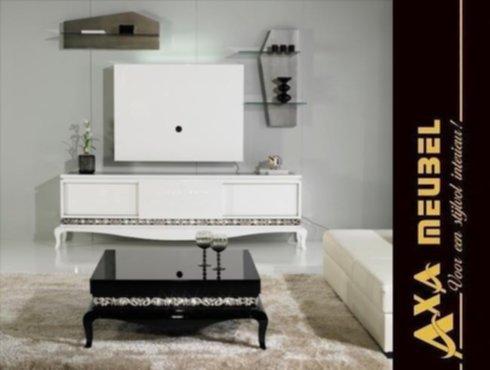 Meubelen hoogglans wit modern barok woonkamer kast op for Kast woonkamer modern