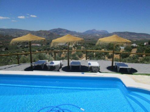 Vakantiewoningen spanje vakantie villa te huur met for Villa met zwembad te huur
