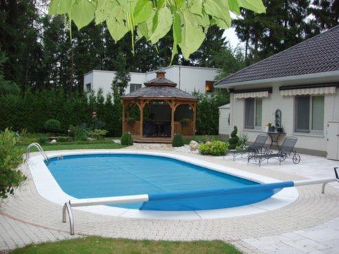 Tuin en tuinmachines zelf een zwembad bouwen in 3 for Huis bouwen stappen