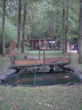 Vakantiewoningen recreatieverblijf in de ardennen nabij for Vijver te koop ardennen