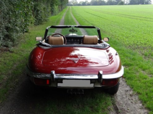 Jaguar E Type V Roadster on Fiat 500 Lamborghini V12