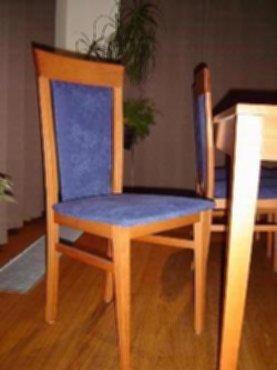 Meubelen moderne eetkamer kersenhout - Moderne eetkamerstoel eetkamer ...