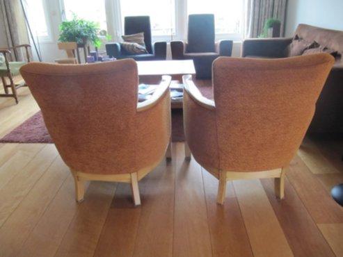 Meubelen 2 mooie art deco stoeltjes te koop for Mooie spiegels te koop