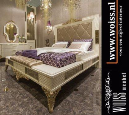 Meubelen woiss meubels breda italiaans stijl hoogglans slaapkamer inrichting - Slaapkamer stijl ...