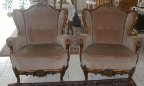 meubelen salon louis xv. Black Bedroom Furniture Sets. Home Design Ideas
